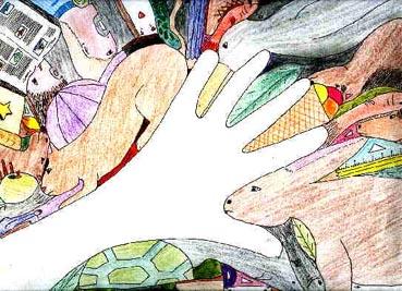 La main et les formes : 5ème. Travaux d'arts plastiques en ...